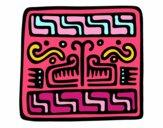 Inscripción maya