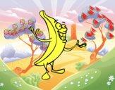 Señor plátano