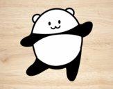Panda bailando