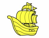 Barco de corsarios