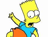 Dibujo Bart 2 pintado por Sammy0923
