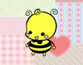 Dibujo Bebé abeja pintado por starlimon