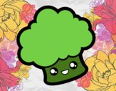 Brócoli sonriente