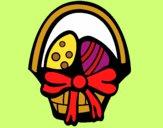 Dibujo Cesta con huevos pintado por starlimon