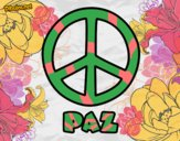 Dibujo Círculo de la paz pintado por antostar12