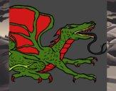 Dragón réptil