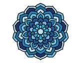 Dibujo Mandala pétalos de flor pintado por DayaLuna