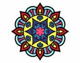 Dibujo Mandala vida vegetal pintado por DayaLuna