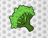 Dibujo Rama de brócoli pintado por starlimon