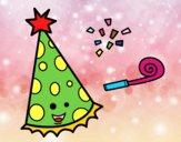 Dibujo Sombrero de fiesta pintado por starlimon
