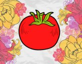 Dibujo Tomate ecológico pintado por starlimon
