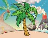 Dibujo Una palmera pintado por Saritita