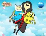 Volando con Marceline