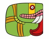 Dibujo Jeroglífico maya pintado por Manuela26