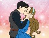 Dibujo Beso de amor pintado por DiamondB