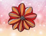 Dibujo Flor de margarita pintado por WendyYesen