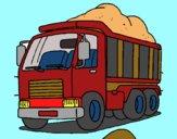 Dibujo Camión de carga 1 pintado por jesus45616