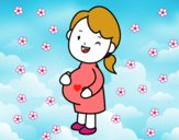Chica embarazada