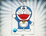 Dibujo Doraemon pintado por MONSLAROLA