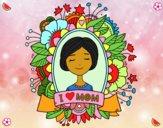 Dibujo Homenaje a todas las madres pintado por 2530