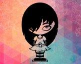 Dibujo Look Emo pintado por UmaUma