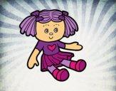 Dibujo Muñeca de juguete pintado por epv4