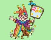 Dibujo Niño de carnaval pintado por mangli