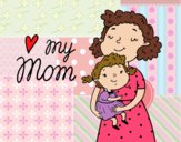 Dibujo Quiero a mi mamá pintado por Furby18