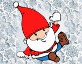 Santa Claus saludando