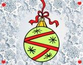 Dibujo Una bola de Navidad pintado por 2530