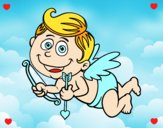 Cupido sonriendo