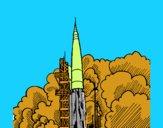 Lanzamiento cohete