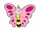 Dibujo Mariposa fantasía pintado por andre10