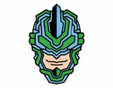 Máscara robot