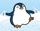 Pingüino bailando