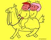 Príncipes a caballo