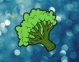 Rama de brócoli
