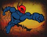 Dibujo Superhéroe sin capa pintado por AARONDAVID