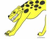 Estatua Jaguar