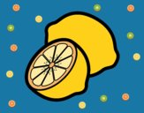 Dibujo Limones pintado por linda423