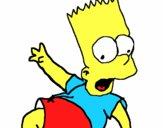 Dibujo Bart 2 pintado por juaqu