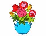 Jarrón de flores 1
