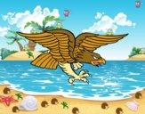 Tatuaje de águila