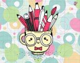 Dibujo Taza animada con lápices pintado por Lucchii