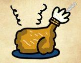 Alita de pollo