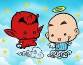Dibujo Ángel o demonio pintado por AlexNori13
