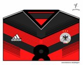 Camiseta del mundial de fútbol 2014 de Alemania