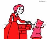 Dibujo Caperucita roja 2 pintado por josehanny