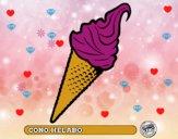 Dibujo Cono helado pintado por Bella-Luna