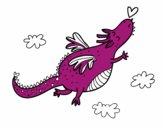 Dragón con corazón